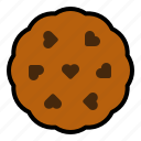 bakey, cookie, romance, sweet, sweets icon