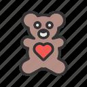 bear, childhood, love, teddy, toy, valentine, valentines gift