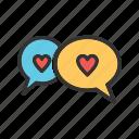 bubble, bubbles, chat, communication, message, talk, text