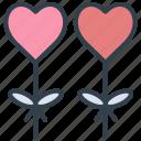 valentine, balloon, romantic, birthday, wedding, party