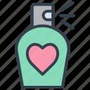 valentine, perfume, fragrant, romantic, love, party