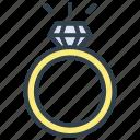 valentine, ring, romantic, wedding, diamond, jewelry