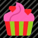 bakey, cake, cupcake, romantic, sweet, sweets