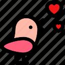 bird, bird love, bird wings, flying bird, love bird icon