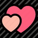 heart, heart flat, heart icon, heart shape, heart shaped, hearts icon