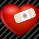 bind, heart, hurt, love, up, valentine's day