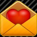 email, heart, love, mail, message, valentine, valentine's day