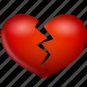 broken, heart, hurt, love, valentine's day