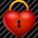 heart, lock, locked, love, security, valentine, valentine's day