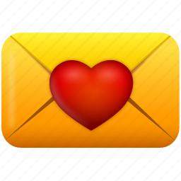 email, envelope, favorite, favorites, heart, letter, like, love, mail, message, send, valentine, valentine's day icon