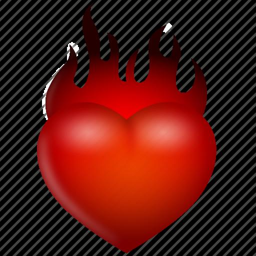 burn, favorite, favorites, favourite, favourites, fire, flame, heart, heat, hot, like, love, valentine, valentine's day, warm icon
