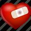 bind, heart, hurt, love, up, valentine's day icon