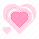crush, heart, heartbeat, love, lover, romance, valentin icon