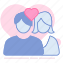 crush, heart, love, lovers, man, romance, valentin icon