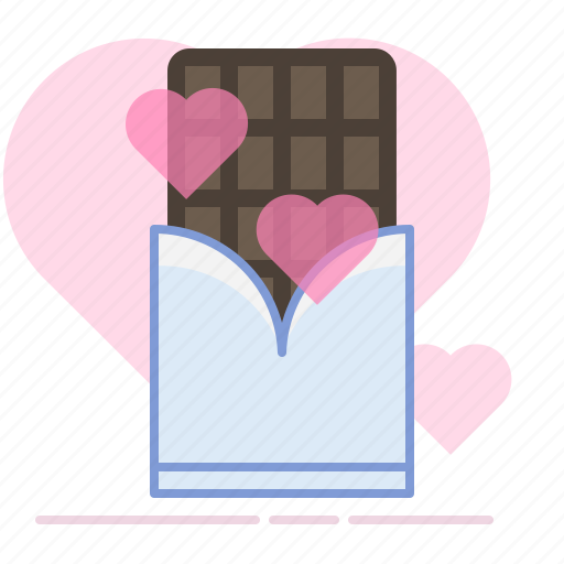 chocolate, gift, heart, love, romance, sweet, valentin icon