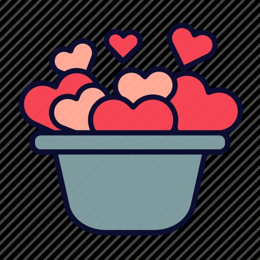 birthday, love, present, romance, valentine, valentines day icon