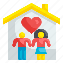 home, house, love, valentines, romantic, sweetheart, couple