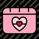 heart, valentine, love, card, red, romantic