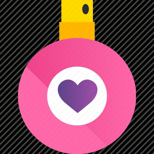 day, gift, heart, love, perfume, romance, valentine icon