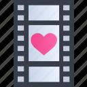 movie, romance, cinema, film, heart, love, video