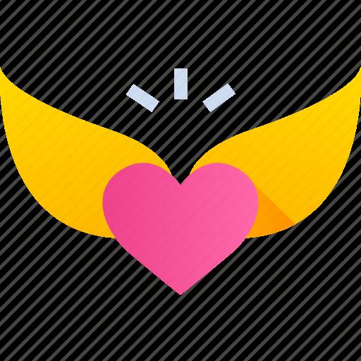 date, gift, heart, love, romance, valentine icon