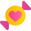 candy, heart, love, romance, sweet, valentine icon