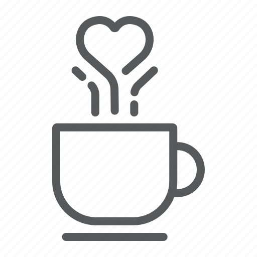 Coffee, cup, drink, love, lovely, mug, valentine icon - Download on Iconfinder