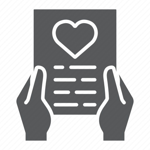 Envelope, hand, letter, love, message, valentine icon - Download on Iconfinder