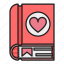 book, day, heart, love, stories, valentines
