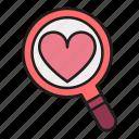 day, find, heart, locate, love, valentines