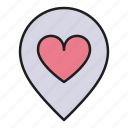 day, heart, location, love, place, valentines
