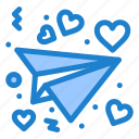 letter, love, valentine icon