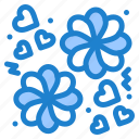 flower, gift, love icon
