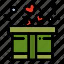 gift, love, present icon
