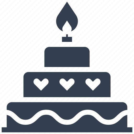 birthday, cake, celebration, couple, dessert, food, love, mariage, party, sweet, valentine, valentine's day, weding icon