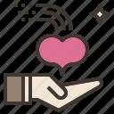 charity, give, heart, love, welcome