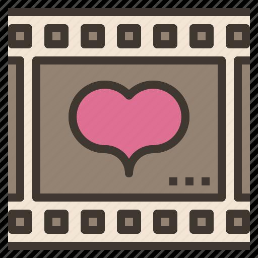 film, heart, love, movie icon