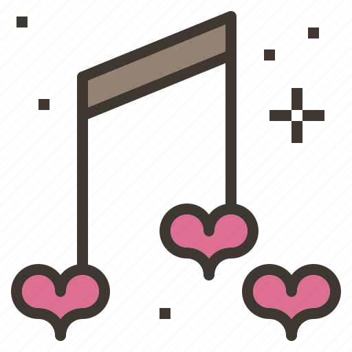 love, music, note, song icon