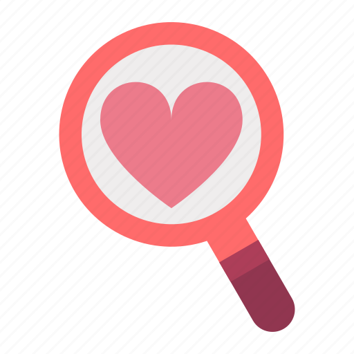 day, find, heart, locate, love, valentines icon