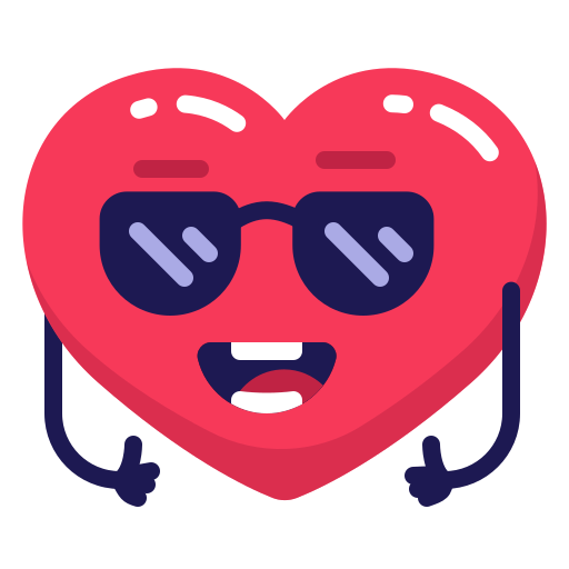 Cool, heart, sunglasses icon - Free download on Iconfinder