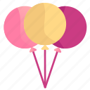 14, balloon, date, february, fill, icon, love, romance, romantic, set, shadow, valentine icon