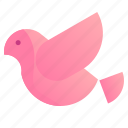 14, bird, dove, february, fly, goal, love, relationship, romance, romantic, set, valentine icon