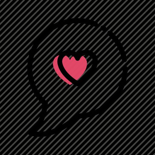 flat, heart, love, valentine, valentines icon