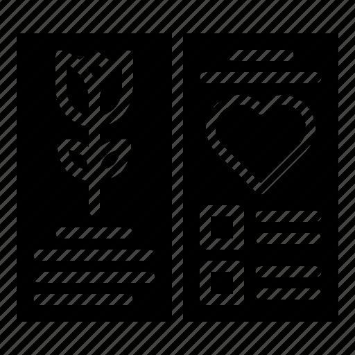 card, celebrate, greeting, romantic, valentine icon