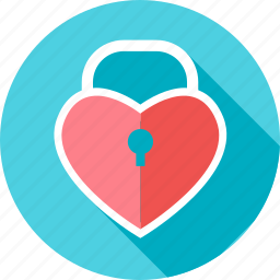 heart, lock, locked, locker, love, valentine, valentines icon