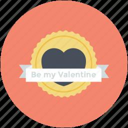 congratulations, gift decoration, greetings, heart emblem, heart shape icon