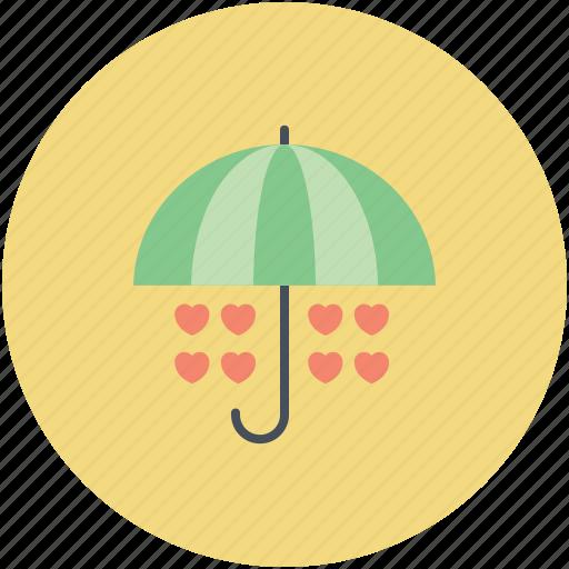 heart drops, love concept, love is in air, love theme, rain of love, raining hearts icon