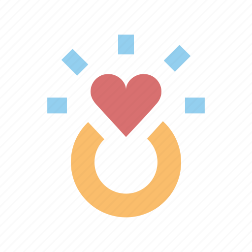engagement, heart, marriage, propose, ring, valentines, wedding icon