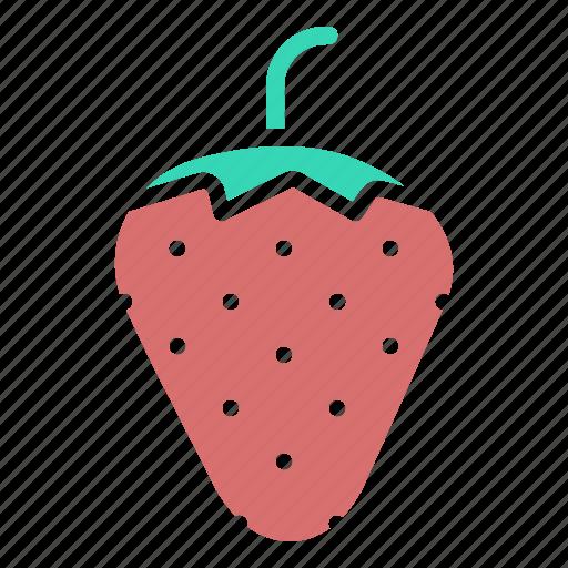 fruit, love, romance, romantic, sex, strawberry, valentines icon