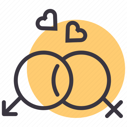 couple, heart, love, lovers, marriage, romance, valentines icon